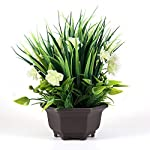 Binnny-Flower-Artificial-Potted-Plant-with-Gardenia-Flowers-in-Brown-Plastic-Planter-for-Home-Office-Indoor-and-Outdoor-Occasions-Decor