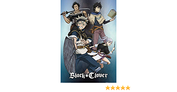 Maxi Size 36 x 24 Inch Black Clover Magic Poster New