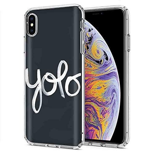 Iphone Xr Nakedshield Slim Flex Gel Skin Case Apple Iphone Xr Yolo Design