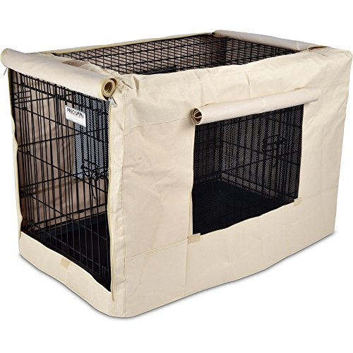 Precision pet indoor outdoor crate cover price reviews for Outdoor dog crate cover