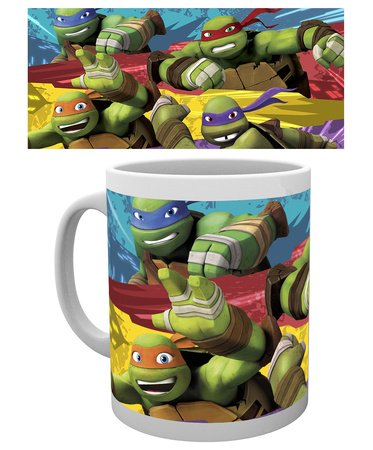 GB Eye, Tortugas Ninja, Logo, Taza: Amazon.es: Hogar