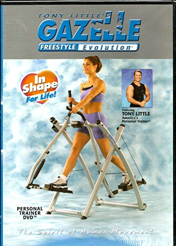 Dvd Freestyle Little Tony Gazelle - Tony Little's Gazelle Freestyle Evolution Personal Trainer DVD
