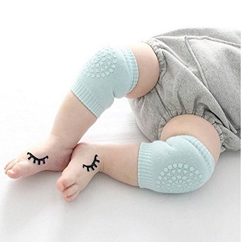 5 Pair Baby Knee Pads, Crawling Anti-Slip Knee for Unisex Baby Toddlers by CASAFE (Image #5)