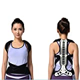 Top Quality Latest Teenagers and Aged Spinal Brace Support Lumbar Vertebra Fixator Spine Recover Orthotics Kyphosis Posture Corrector Free Size