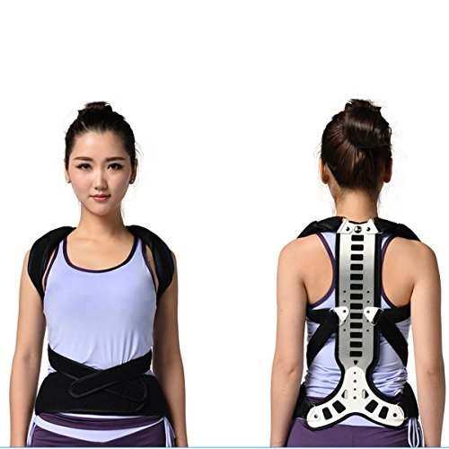 Top Quality Latest Teenagers and Aged Spinal Brace Support Lumbar Vertebra Fixator Spine Recover Orthotics Kyphosis Posture Corrector Free Size by ober