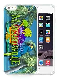 Genuine iPhone 6 Plus/6S Plus 5.5 inches Margaritaville Jimmy Buffett (2) White Screen TPU Phone Case Fashion and Luxury Design