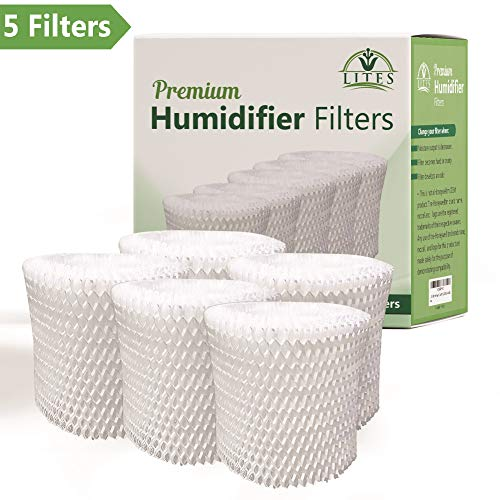 LITES (5 PACK)| Replacement for Honeywell Filter HAC-504, HAC-504AW, Filter A, HCM 350 and Other Cool Mist Wicking Humidifiers ()