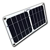 Suntactics S5-Lite Very Ultralight Solar Charger, 5.6oz! Quick Charge Phones, Power Banks and Many Other USB Devices Using Only The Sun! Assembled in The USA!