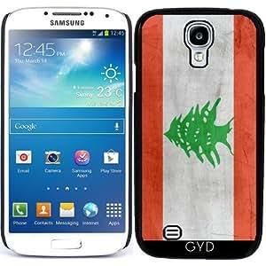 Funda para Samsung Galaxy S4 Mini (GT-I9195) - Bandera De Líbano by wamdesign