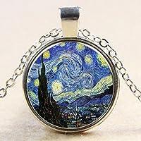 Dije La noche estrellada ¨Starry Night¨ de Vincent van Gogh