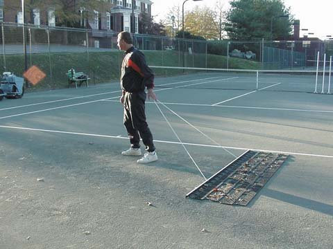 Bocce/tennis Court Aussie Clean Sweep (4' wide) by Lee
