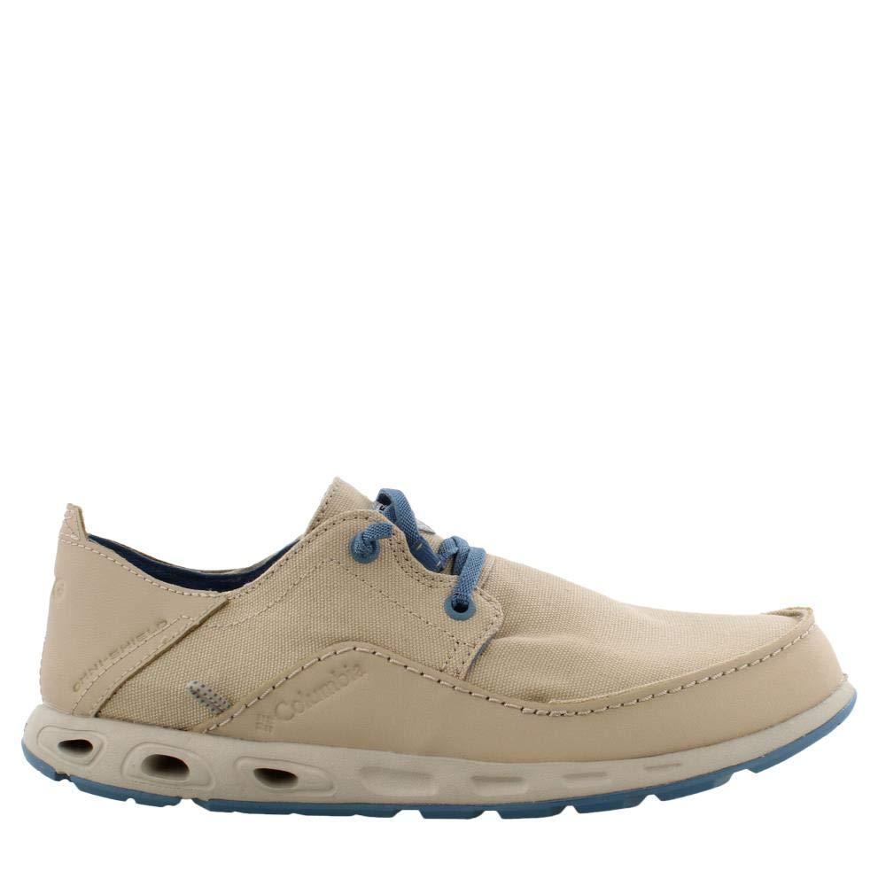 Columbia Men's, PFG Bahama Vent Relaxed PFG Slip on Shoes Khaki 7 M