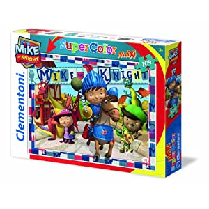 Clementoni 23652 Maxi Puzzle Mike The Knight Be A Knight 104 Pezzi