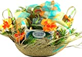 Gift Basket Village 5 O'clock Somewhere Tropical Gift Basket, Large