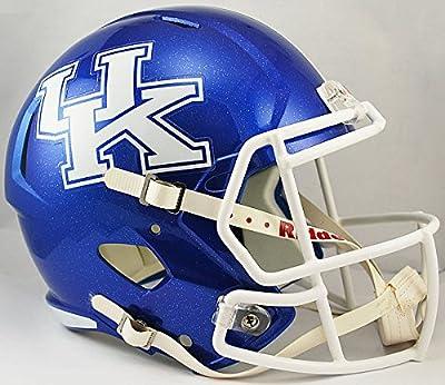 Kentucky Wildcats Speed Replica Football Helmet - NCAA College Football Licensed - Kentucky Wildcats Collectibles