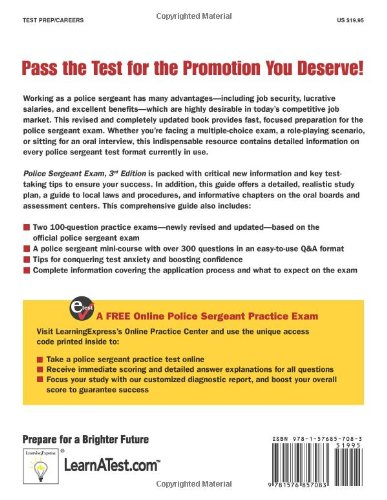 Police Sergeant Exam: A Step-By-Step System to Prepare for Your ...