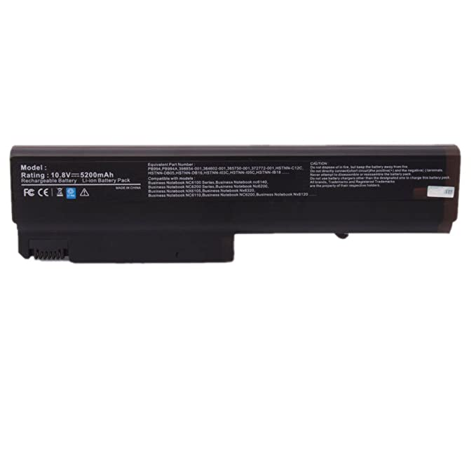 Amazon.com: Laptop Battery for HP 6510b 6515b 6710b 6710s 6715b 6715s 6910p NC6100 NC6105 NC6110 NC6115 NC6120 NC6200 NC6200 NC6220 NC6230: Computers & ...