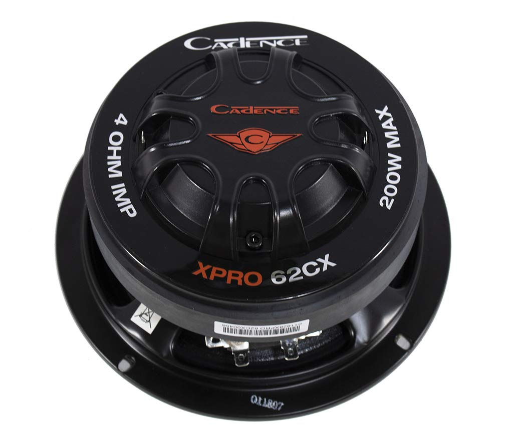 Cadence XPRO62CX XPRO62CX 6.5'' Pro Audio Mid withCompression Driver 4Ω 75W RMS by Cadence (Image #5)