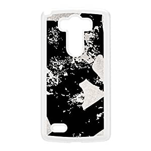 Skate board Grunge on Black and White White Hard Plastic Case for LG G3 by UltraCases + FREE Crystal Clear Screen Protector