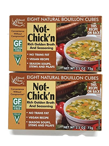 Price comparison product image Not-Chick'n Edward & Sons Bouillon Cubes (Set of 2)