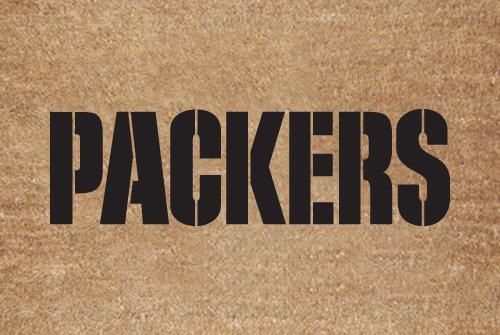 Green Bay Packers Flocked Door Mat