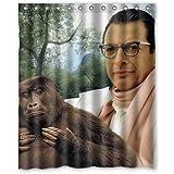 Jeff Goldblum Custom Waterproof Shower Curtain 60x72 Inch Bath Curtains by LiangZP