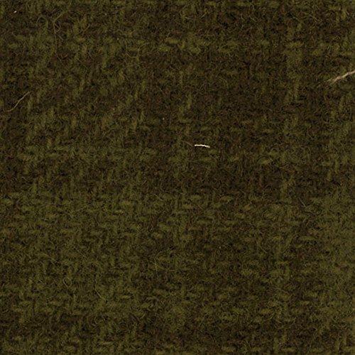 Plaid Fabric Glen (Primitive Gatherings Hand Dyed Wool Sage Glens Plaid 15 inch x 25 inch Cut Piece Moda PRI 5035)