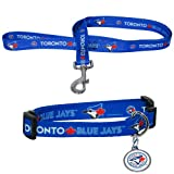 BSS - Toronto Blue Jays MLB Dog Collar & Leash Set (Medium)
