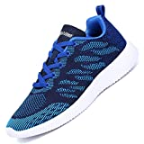 Alibress Men's Women's Casual Walking Athletic Sneakers Lightweight Breathable Mesh Running Sport Gym