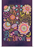 Poster Print entitled Bloom and Grow by Mary Tanana 40''x60''