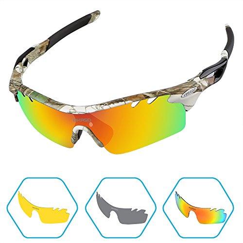AKASO Men\'s Tripolar Polarized Cycling Sunglass...