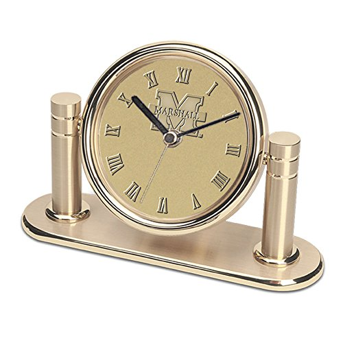 - CSI Cannon Sports Marshall Thundering Herd Arcadia Desk Clock