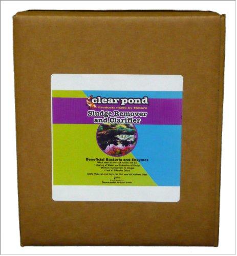 Clear Pond Dry Sludge Remover and Clarifier - Bulk, 10-Pound