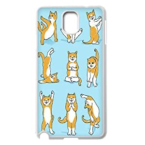 Yoga Cats Customized Cover Case for Samsung Galaxy Note 3 N9000,custom phone case ygtg572269