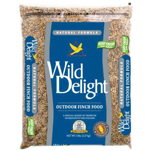 Wild Delight 375050 Natural Formula Outdoor Finch Food, 5 (Finch Natural)