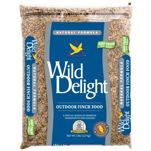 (Wild Delight Outdoor Finch Food, 5 lb)