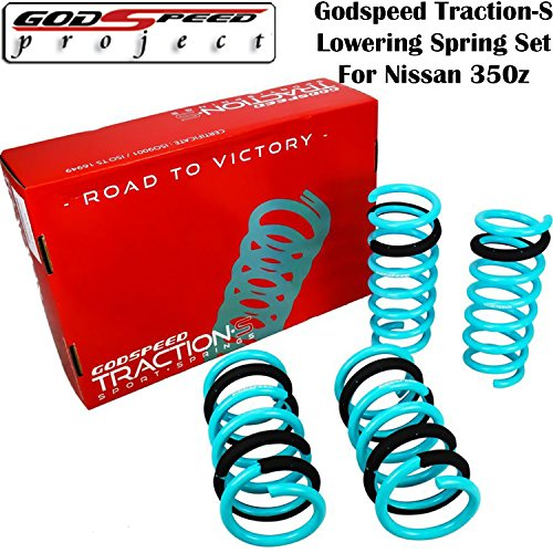Lowering Spring Set For 2003 - 2008 Nissan 350Z Z33 & 2003-2007 G35 COUPE V35 kit ( LS-TS-NN-0001 ) JDM ()