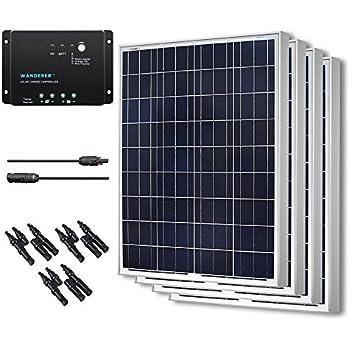 RENOGY 400 Watts 12 Volts Polycrystalline Solar Bundle Kit