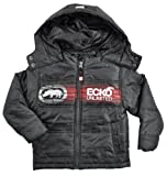 Ecko Unltd Boys Black & Red Light Winter Jacket