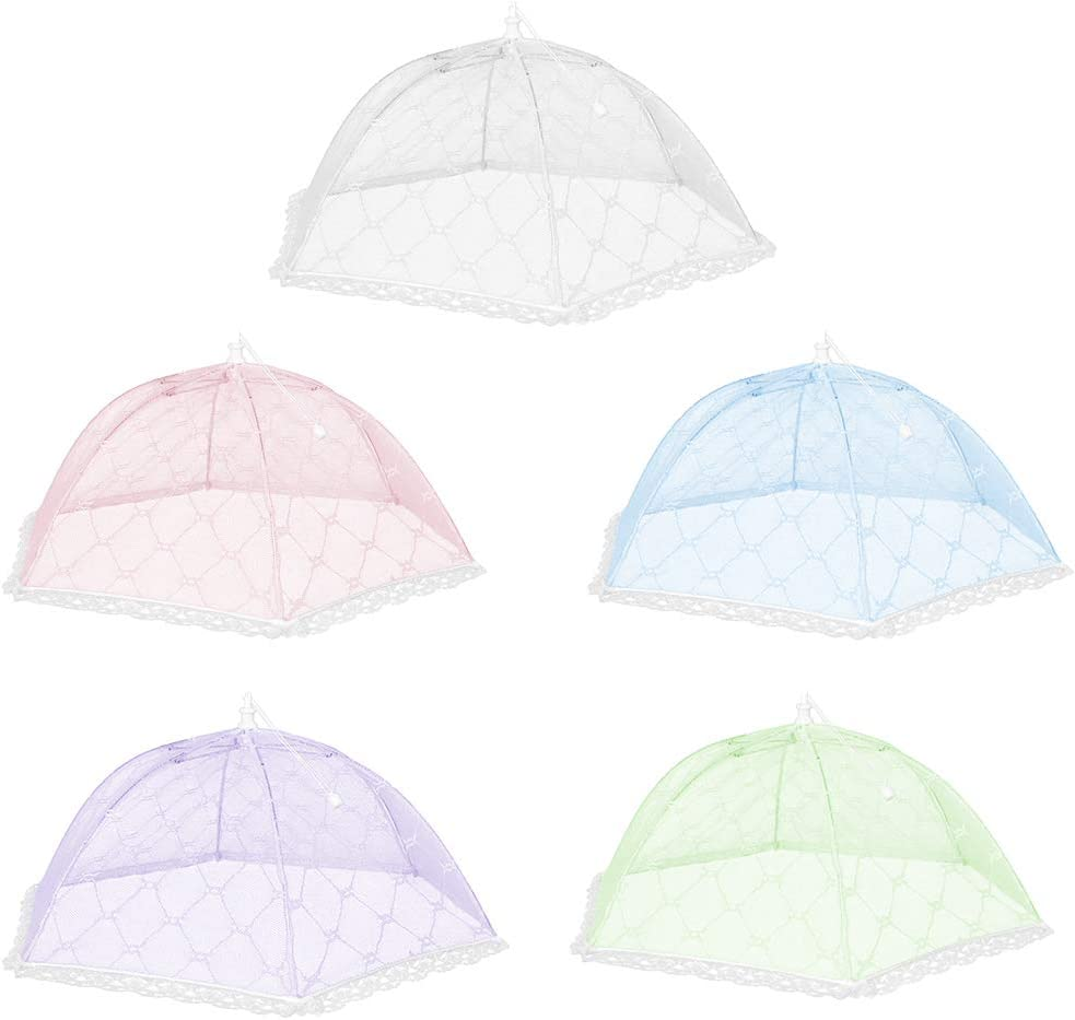 KAOYOO Pop-Up Mesh Food Cover Tents(5 Pack,10.5