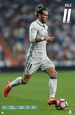 GARETH BALE WALES Logo Real MadridCanvas Print Wall Art Photo5 Sizes