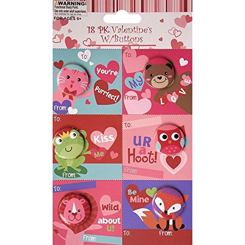 Gift Boutique 36 Count Valentine Cards For Kids With
