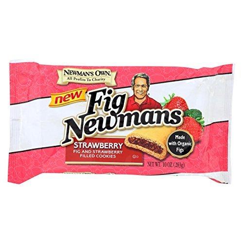 Newman's Own Organics Fig Newmans,Organic ,Strawber 10 Oz (Pack Of - Newmans Fig Organics Own