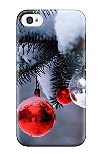 High Impact Dirt/shock Proof Case Cover For Iphone 4/4s (holiday Christmas) by Maris's Diary