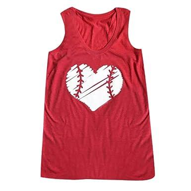 Chaleco de Mujer Camiseta Sin Mangas Amor Estampado Impresión ...