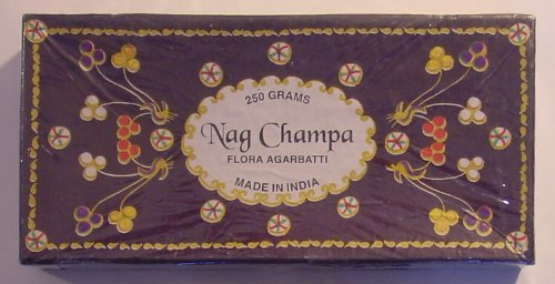 Flora Nag Champa - 250 Gram Box - Incense From Flora Agarbatti In India