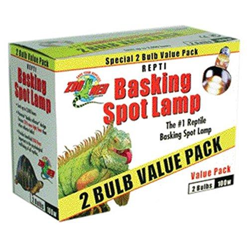 51gLWs0oGgL - Zoo Med Basking Spot Lamp - 2 pack