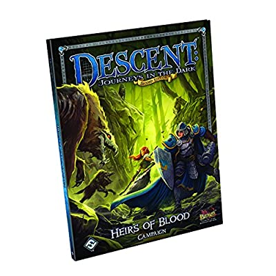 Descent Second Edition: Heirs of Blood: Fantasy Flight Games: Toys & Games