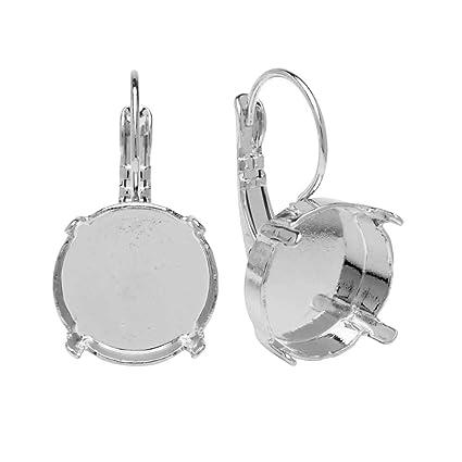 4d52b86a29424 Amazon.com: Gita Jewelry Stone Setting for Swarovski Crystal ...