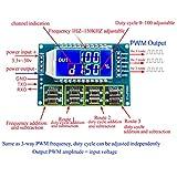 HiLetgo 2pcs 3 Channel PWM Pulse Generator Signal